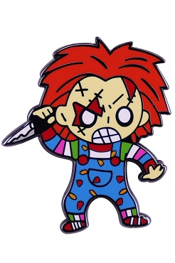 CHUCKY ( CHILD'S PLAY) ENAMEL PIN